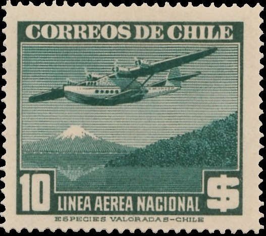 Chile 1941 Air Post Stamps (Type 1941) l.jpg