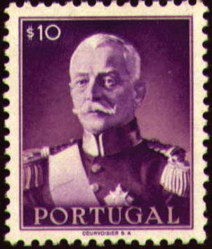 Portugal 1945 President Carmona