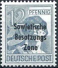 Russian Zone 1948 Overprint - Sowjetische Besatzungs Zone e.jpg