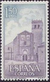Spain 1968 Monasteries