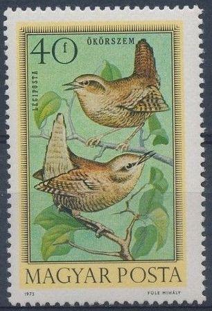 Hungary 1973 Birds