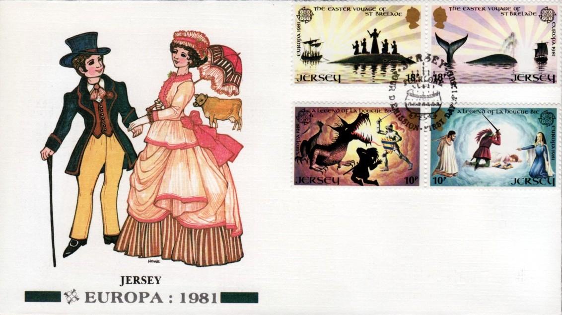Jersey 1981 EUROPA