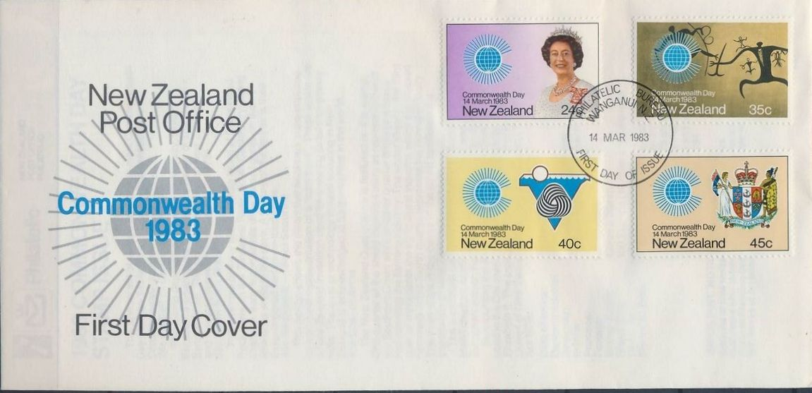 New Zealand 1983 Commonwealth Day