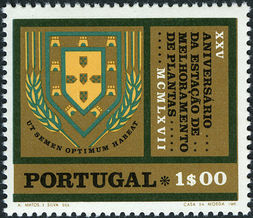Portugal 1970 25th anniv. of the Plant Research Station at Elvas