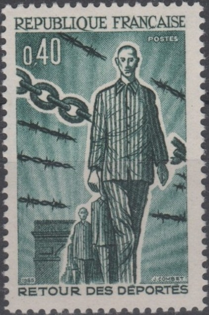 France 1965 20th Anniversary of the Return of Deportees