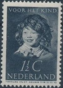 Netherlands 1937 The Laughing Child after Frans Hals