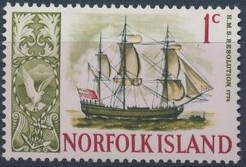 Norfolk Island 1967 Ships - Definitives (1st Issue)