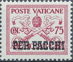 Vatican City 1931 Parcel Post Stamps g.jpg