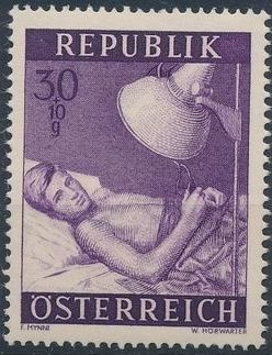 Austria 1954 Surtax for Social Welfare