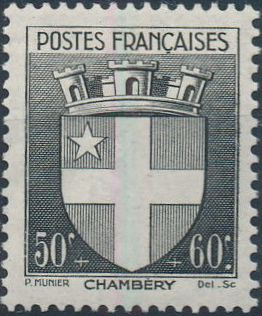 France 1942 Coat of Arms (Semi-Postal Stamps)