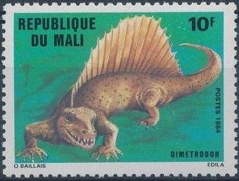 Mali 1984 Prehistoric Animals
