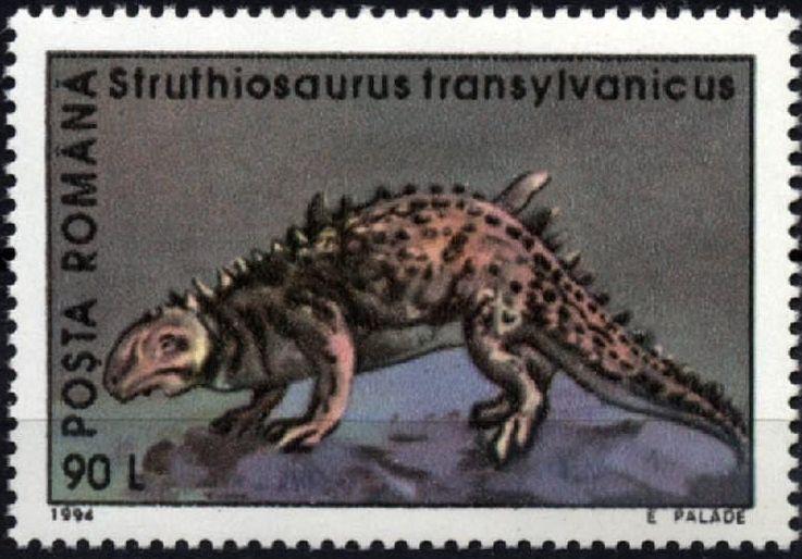 Romania 1994 Dinosaurs