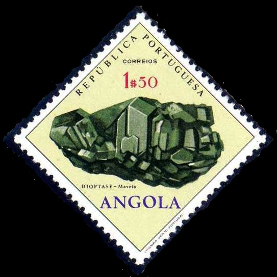 Angola 1970 Fossils and Minerals from Angola c.jpg