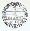 Portugal 1955 Centenary of Electric Telegraph System in Portugal PMa.jpg