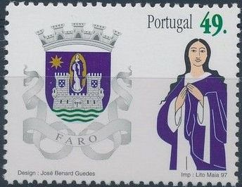 Portugal 1997 Arms of the Districts of Portugal b.jpg
