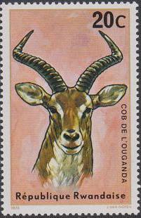 Rwanda 1975 Antelopes
