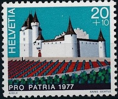 Switzerland 1977 PRO PATRIA - Castles