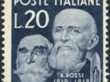 Trieste-Zone A 1950 G. Marzotto and A. Rossi Pioneers of the Italian Wool Industry