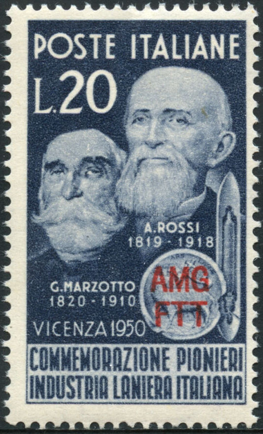 Trieste-Zone A 1950 G. Marzotto and A. Rossi Pioneers of the Italian Wool Industry a.jpg