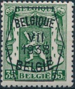 Belgium 1938 Coat of Arms - Precancel (7th Group) e.jpg
