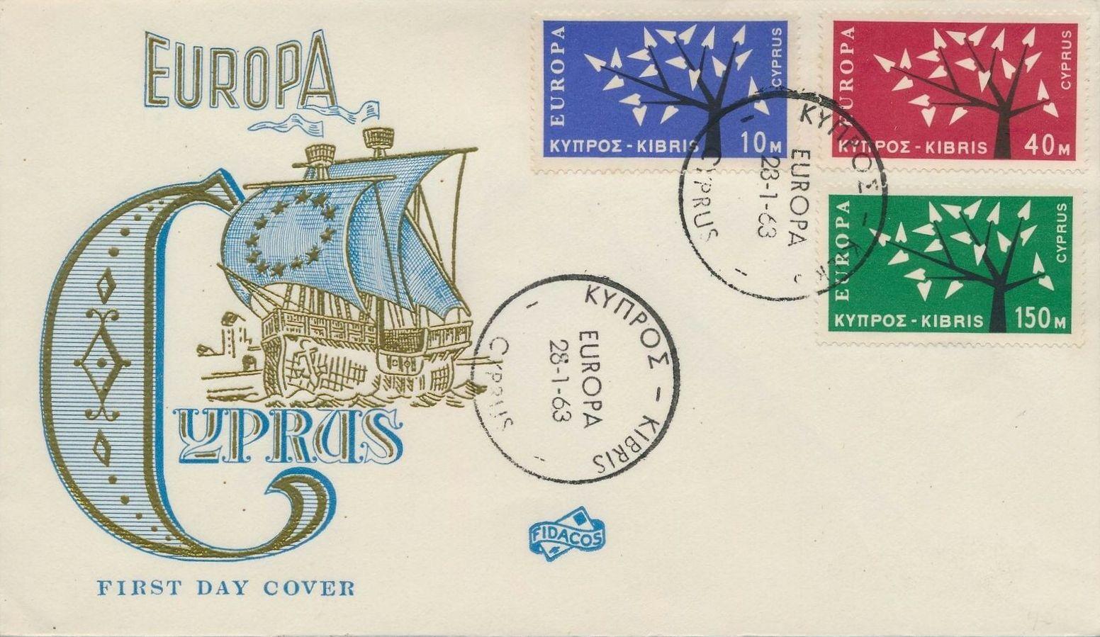 Cyprus 1963 EUROPA - CEPT FDCa.jpg