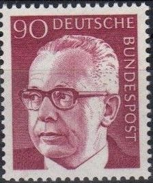 Germany, Federal Republic 1971 President Gustav Heinemann (3rd Group) b.jpg