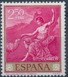 Spain 1963 Painters - José de Ribera g.jpg