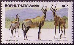 Bophuthatswana 1983 Pilanesberg Nature Reserve d.jpg