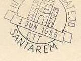 Postmarks Portugal 1956