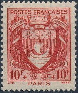France 1941 Coat of Arms (Semi-Postal Stamps) l.jpg