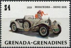 Grenada Grenadines 1983 The 75th Anniversary of Ford T j.jpg
