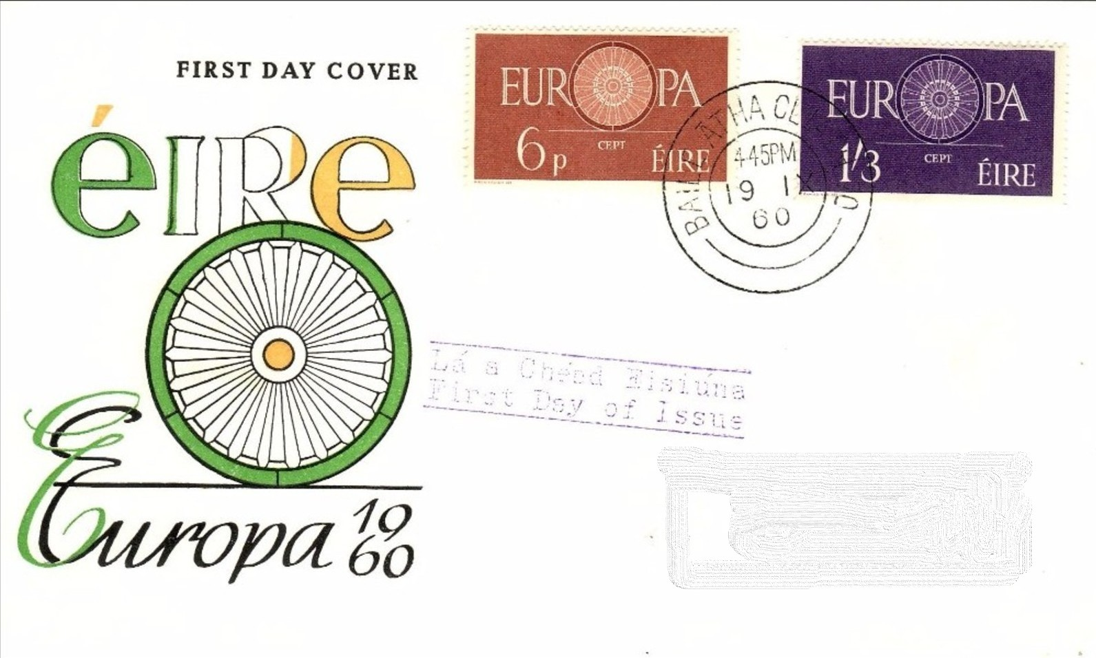 Ireland 1960 Europa FDCc.jpg