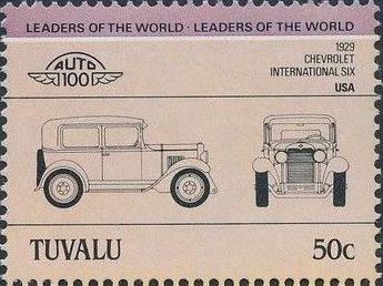 Tuvalu 1984 Leaders of the World - Auto 100 (1st Group) i.jpg