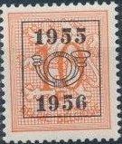 Belgium 1955 Heraldic Lion with Precancellations b.jpg