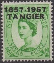British Offices in Tangier 1957 Centenary Overprint (1857-1957) j.jpg