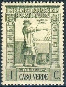 Cape Verde 1938 Portuguese Colonial Empire