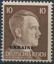 German Occupation-Ukraine 1941 Stamps of German Reich Overprinted in Black g.jpg