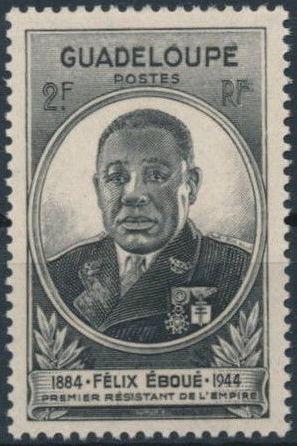 Guadeloupe 1945 Felix Eboue