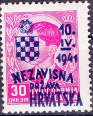 Croatia 1941 Anniversary of Independence o.jpg