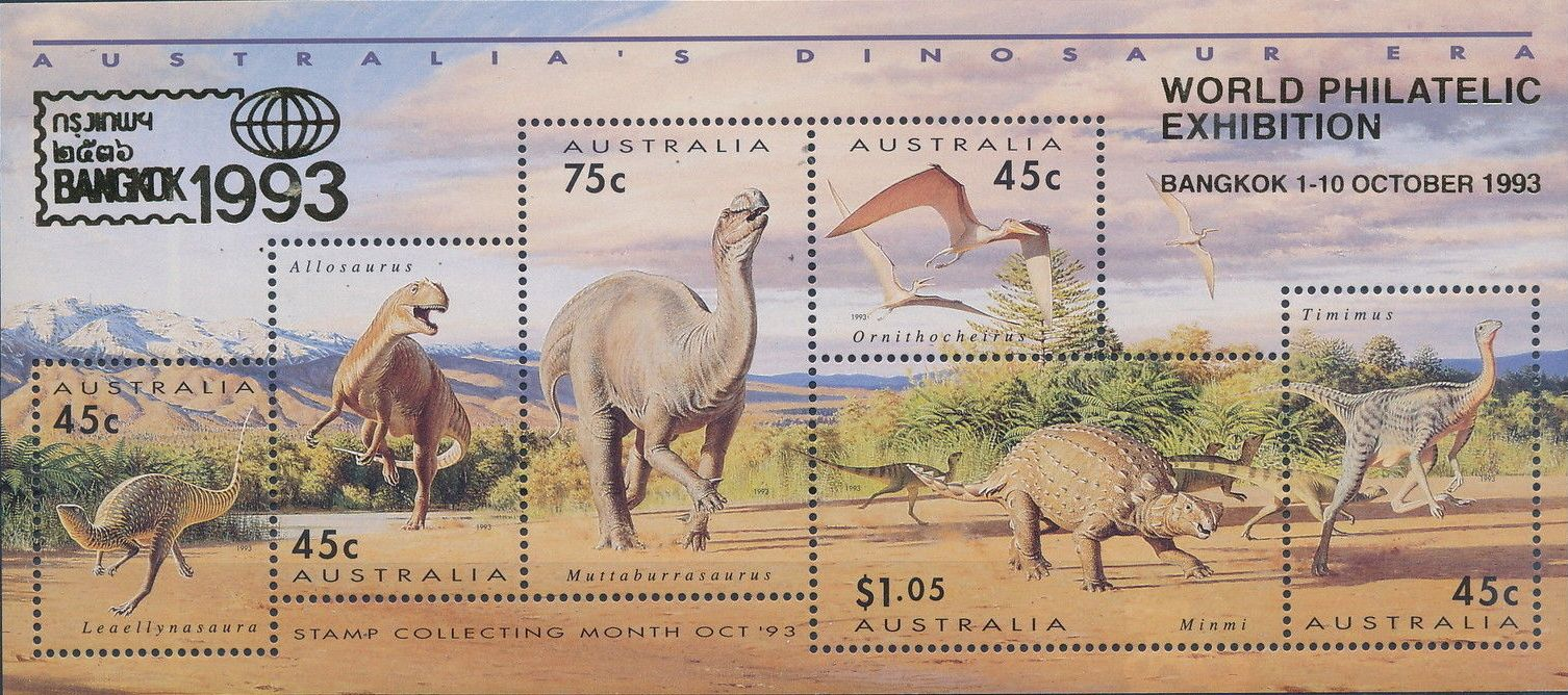Australia 1993 Australia's Dinosaur Era j.jpg