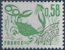 France 1978 Signs of the Zodiac - Precanceled (2nd Issue)