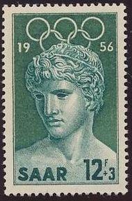 Saar 1956 Melbourne Olympics