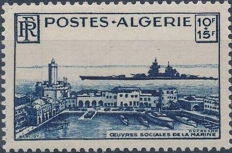 Algeria 1949 Surtax for Naval Charities