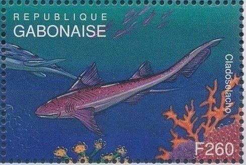 Gabon 1995 Prehistoric Wildlife zj.jpg