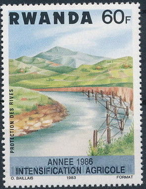Rwanda 1986 Soil Erosion Prevention (Surcharged and Overprinted) h.jpg