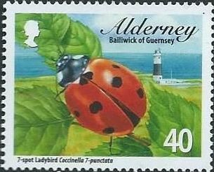 Alderney 2014 Alderney Ladybirds
