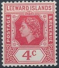 Leeward Islands 1954 Queen Elizabeth II e.jpg
