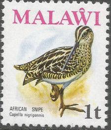Malawi 1975 Birds