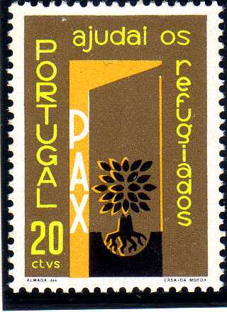 Portugal 1960 International Year of Refugees