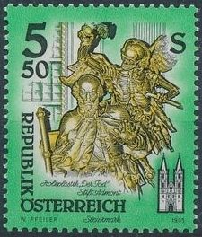 Austria 1993 Artworks from Pens and Monasteries (1st Group)